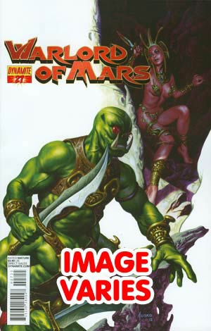 DO NOT USE (DUPLICATE LISTING) Warlord Of Mars #27 Regular Cover (Filled Randomly With 1 Of 2 Covers)