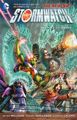 Stormwatch (New 52) Vol 2 Enemies Of The Earth TP