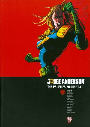 Judge Anderson Psi Files Vol 3 TP