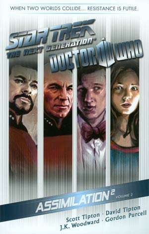 Star Trek The Next Generation Doctor Who Assimilation2 Vol 2 TP