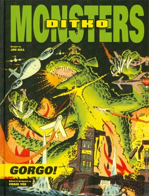 Ditko Monsters Vol 1 Gorgo HC