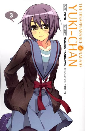 Disappearance Of Nagato Yuki-Chan Vol 3 GN