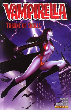 Vampirella Vol 3 Throne Of Skulls TP