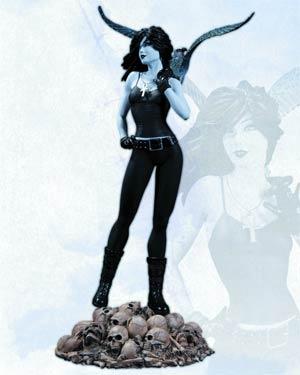 Vertigo Cover Girls Death Statue
