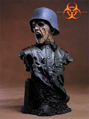 Dead Reich Zombie 1/4 Scale Bust