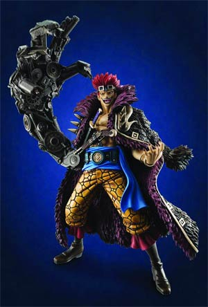 One Piece P.O.P. Captain Kid NEO-MAX EX Model PVC Figure