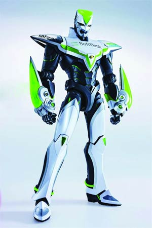 Tiger & Bunny 12-Inch Perfect Model - Wild Tiger Action Figure