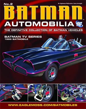 DC Batman Automobilia Collection Magazine #2 1966 Batman TV Series