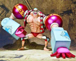 One Piece Figuarts Zero - For The New World - Franky Figure