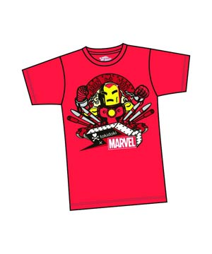 Marvel x tokidoki Iron Man Missle T-Shirt Large