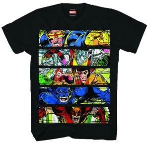 X-Men Intimidation Black T-Shirt Large