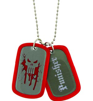 Marvel Heroes Double-Sided Dog Tag - Punisher