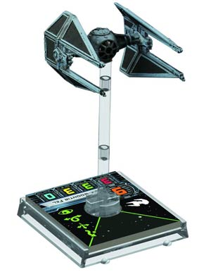 Star Wars X-Wing Miniatures Game TIE-Interceptor Expansion Pack