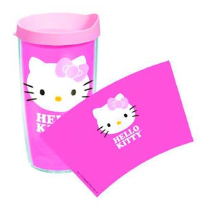 Tervis Hello Kitty 16-Ounce Tumbler With Lid - Face