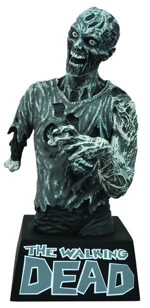 DO NOT USE (duplicate listing) Walking Dead Black & White Zombie Bust Bank