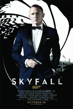 Skyfall Blu-ray DVD