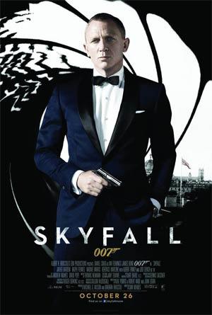 Skyfall DVD