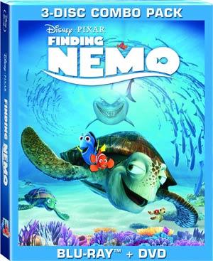 Finding Nemo Blu-ray Combo DVD