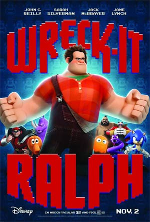 Wreck-It Ralph Blu-ray Combo DVD