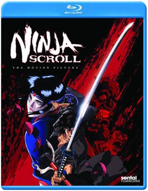 Ninja Scroll Blu-ray DVD