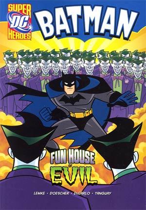 DC Super Heroes Batman Fun House Of Evil Young Readers Novel TP