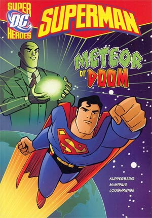 DC Super Heroes Superman Meteor Of Doom Young Readers Novel TP