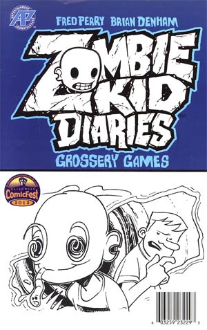 Halloween ComicFest 2012 Zombie Kid Diaries Mini Comic