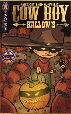 Halloween ComicFest 2012 Cow Boy Hallows Mini Comic
