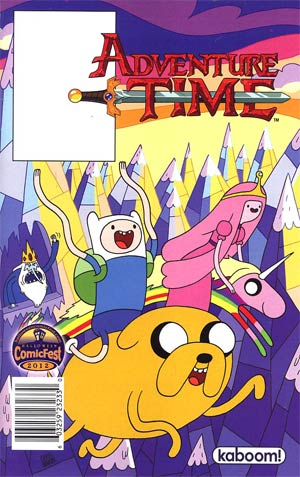 Halloween ComicFest 2012 Adventure Time Mini Comic