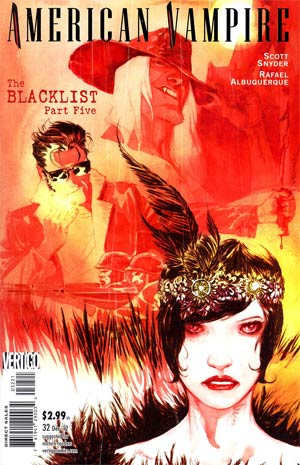 American Vampire #32 Incentive Dustin Nguyen Variant Cover