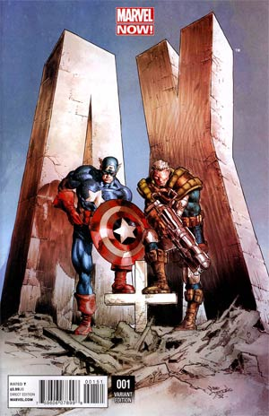 A Plus X #1 Incentive Mike Deodato Jr Variant Cover