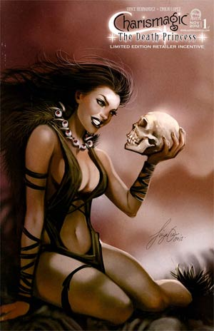 Charismagic Death Princess #1 Cover C Incentive Siya Oum