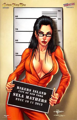 Grimm Fairy Tales #78 NYCC Exclusive Giuseppe Cafaro Variant Cover