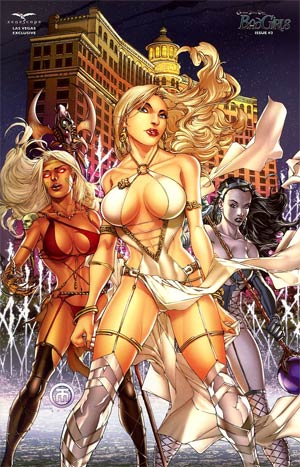 Grimm Fairy Tales Bad Girls #3 Zenescope Las Vegas Exclusive Harvey Tolibao Variant Cover