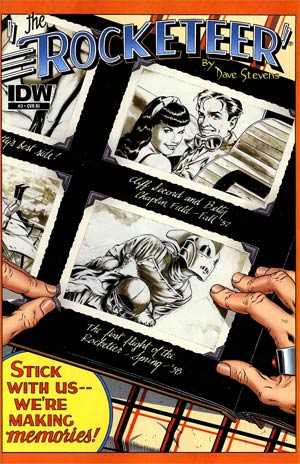 Rocketeer Cargo Of Doom #3 Incentive Dave Stevens Variant Cover