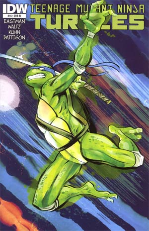 Teenage Mutant Ninja Turtles Vol 5 #15 Incentive Kagan McLeod Variant Cover