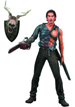 Evil Dead 2 Series 2 Hero Ash With Chainsaw Arm 7-Inch Action Figure