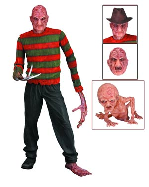 Nightmare On Elm Street Series 3 Dream Warrior Freddy 7-Inch Action Figure