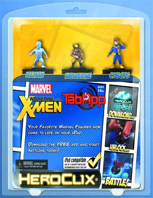 Marvel HeroClix Wolverine & X-Men TabApp Pack
