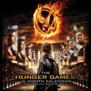 Hunger Games Movie 2013 12x12-Inch Wall Calendar