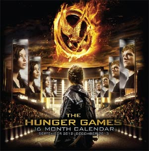 Hunger Games Movie 2013 7x7-Inch Mini Wall Calendar
