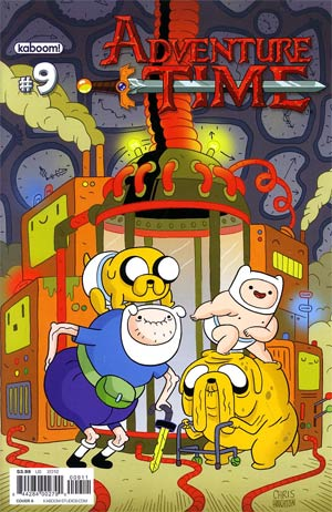 Adventure Time #9 Cover A Regular Chris Houghton Cover