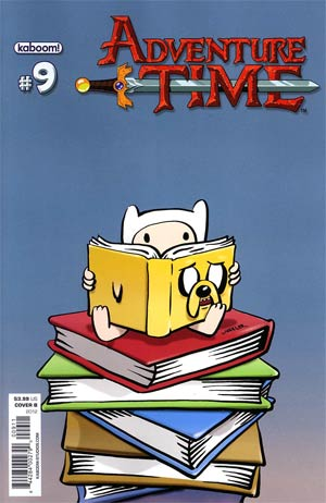 Adventure Time #9 Cover B Regular Shannon Wheeler Cover