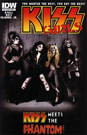 KISS Vol 2 #5 Regular Cover A Sam Shearon