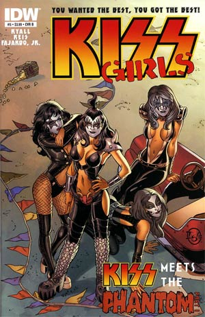KISS Vol 2 #5 Regular Cover B Jamal Igle