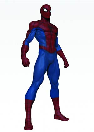Spider-Man Modern Museum Statue By Bowen
