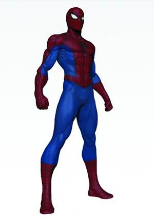 Spider-Man Modern Museum Statue By Bowen