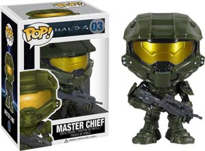 POP Halo 4 03 Master Chief Vinyl Figure