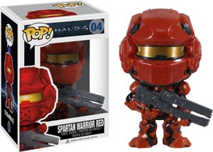 POP Halo 4 04 Spartan Warrior Red Vinyl Figure