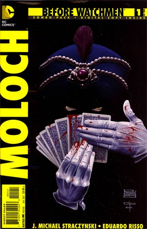 Before Watchmen Moloch #1 Combo Pack With Polybag
